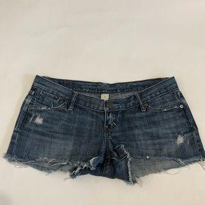 Abercrombie & Fitch Cut off denim shorts